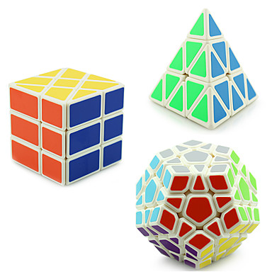 Rubik's Cube YongJun Pyramid Alien Megaminx 3*3*3 Smooth Speed Cube Magic Cube Puzzle Cube Professional Level Speed ABS Square Triangle