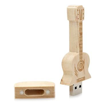 중립 제품 Wooden Guitar 16GB USB 2.1 충격 방지