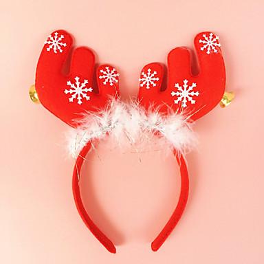 2db agancs harang fülek fejpánttal fej csat üdülési ruha smink karácsonyi díszek kellékek