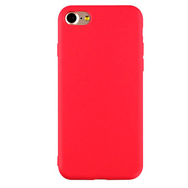 Fruit Color Solid Scrub TPU Material phone Case for iPhone 7 7plus 6S 6plus