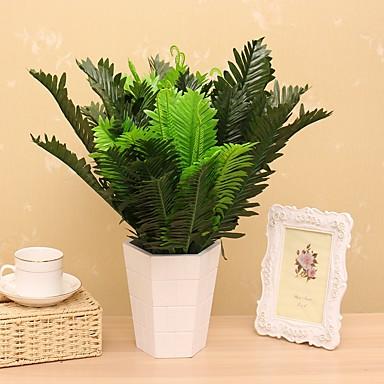 1 1 Ág Selyem Növények Asztali virág Művirágok 45CM