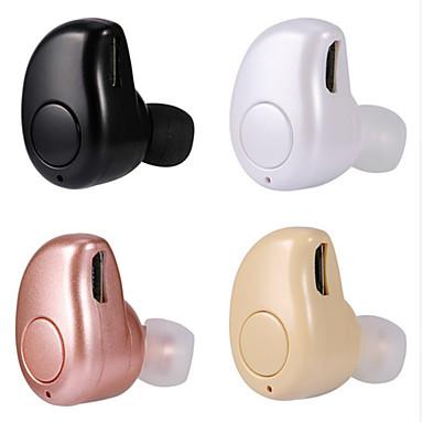 귀에 무선 헤드폰 플라스틱 운전 이어폰 미니 / 마이크 포함 헤드폰