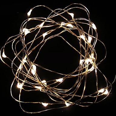 GMY® 10m LEDs Branco Quente 100-240V