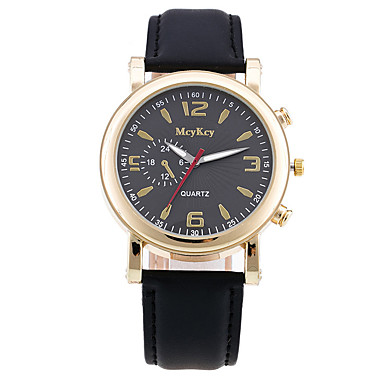 Damskie Zegarek na nadgarstek Modny Kwarcowy PU Pasmo Vintage Na co dzień Czarny Brązowy