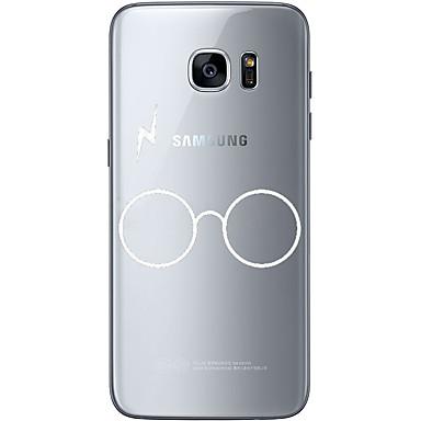 tok Για Samsung Galaxy S7 edge S7 Εξαιρετικά λεπτή Διαφανής Με σχέδια Πίσω Κάλυμμα Συμπαγές Χρώμα Μαλακή TPU για S7 edge S7 S6 edge plus