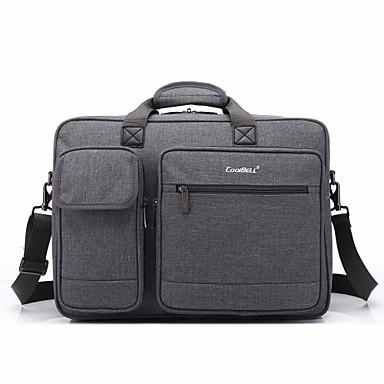 Borsa 17,3 pollici multi-vano spalla del computer portatile borsa a mano per Dell / HP / Sony / Acer / Lenovo / superficie etc