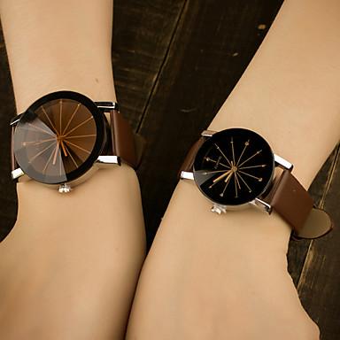 Męskie Kwarcowy Zegarek na nadgarstek Kolorowy / Skóra Pasmo Na co dzień Modny Niebieski