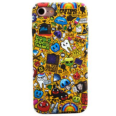 Etui Käyttötarkoitus Apple iPhone 8 iPhone 8 Plus iPhone 6 iPhone 7 Plus iPhone 7 Kuvio Takakuori Piirretty Kova PC varten iPhone 8 Plus