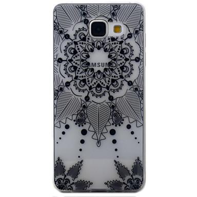 Etui Käyttötarkoitus Samsung Galaxy A5(2016) A3(2016) Läpinäkyvä Kuvio Takakuori Uni sieppari Pehmeä TPU varten A5(2016) A3(2016)