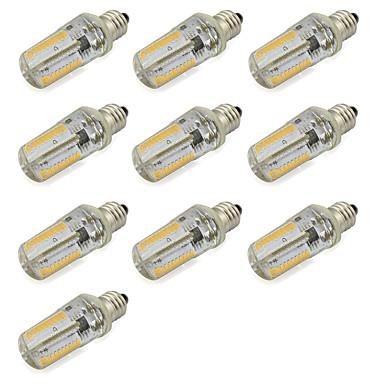4W E11 LED kukorica izzók Cső SMD 3014 320 lm Meleg fehér / Hideg fehér V 10 db.