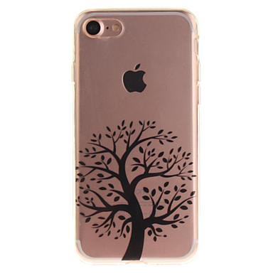 Varten iPhone 7 kotelo iPhone 6 kotelo kotelot kuoret IMD Takakuori Etui Puu Pehmeä TPU varten Apple iPhone 7 iPhone 6s iPhone 6