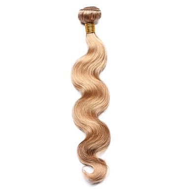 Indiai haj Klasszikus Hullámos haj Emberi haj sző 1 darab Jó minőség Precolored Hair sző Napi