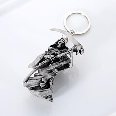 Łańcuszek do kluczy Biżuteria Jasnoszary Gumowy Unikalny euroamerykańskiej Dla obu płci