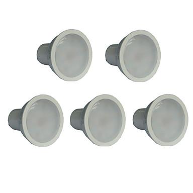 7W 550-600 lm GU10 LED Spot Işıkları MR16 21 led SMD 2835 Sıcak Beyaz AC 100-240V