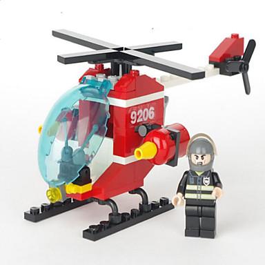 شخصيات كرتونية و دمى محشوة أحجار البناء هليكوبتر ألعاب هليكوبتر صبيان فتيات قطع