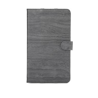 μοτίβο ξύλου υψηλής ποιότητας PU δερμάτινη θήκη με τον ύπνο για m3 μαξιλάρι Huawei μέσων 8,4 ιντσών (dl09 W09)