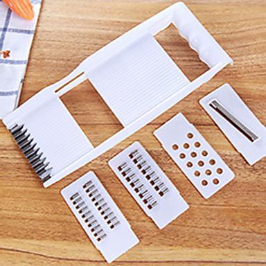4 Κομμάτια Καρότο / ΑγγούριΓια μαγειρικά σκεύη Πλαστικό / Ανοξείδωτο ατσάλι Πολυλειτουργία / Δημιουργική Κουζίνα Gadget