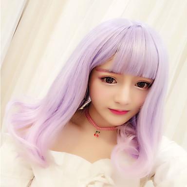 Sweet Lolita Przejście kolorów Peruki Lolita 45 CM Peruki Cosplay Na