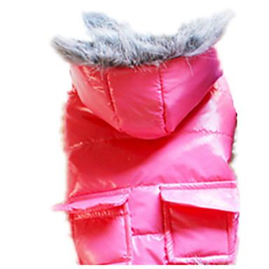 Koira Takit Koiran vaatteet Pidä Lämmin Tukeva Tumman sininen Harmaa Punainen Pinkki