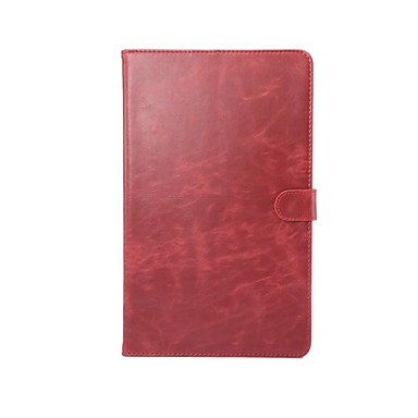 Case For Huawei Full Body Cases / Tablet Cases Solid Colored Hard PU Leather for