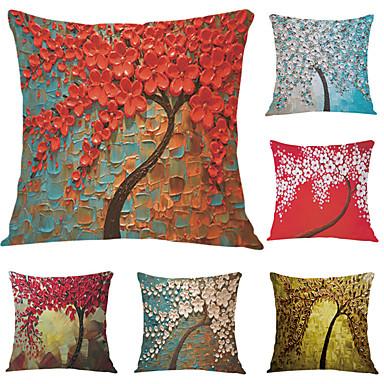 6 szt Aksamit Poszewka na poduszkę, Wzory graficzne Akcent / Decorative