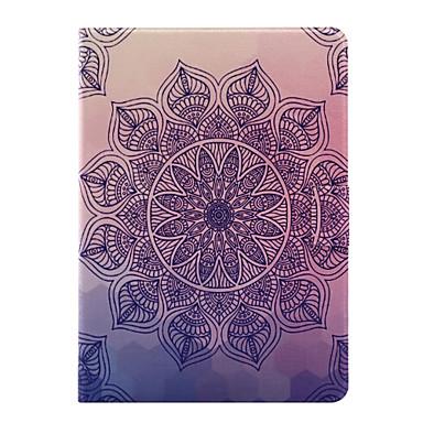 Coque Pour Apple Avec Support / Clapet Coque Intégrale Mandala Flexible faux cuir pour iPad Air / iPad 4/3/2 / iPad Air 2
