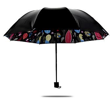 1 pc Plastik Hepsi Güneş Şemsiyesi Katlanan Şemsiye