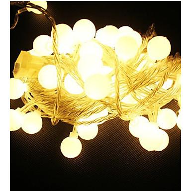 10m 100 led 220v su geçirmez ip65 dış çok renkli led ışıkları ışıklar tatil düğün dekorasyon