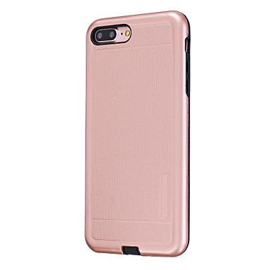 Για Επιμεταλλωμένη tok Πίσω Κάλυμμα tok Μονόχρωμη Σκληρή PC για AppleiPhone 7 Plus / iPhone 7 / iPhone 6s Plus/6 Plus / iPhone 6s/6 /