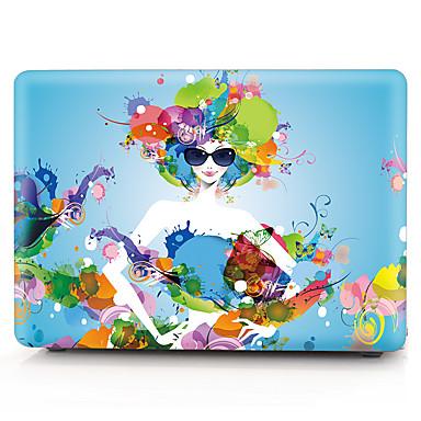 Kwiat wzór mody dziewczyna komputera MacBook przypadku MacBook air11 / 13 pro13 / 15 Pro z retina13 / 15 macbook12