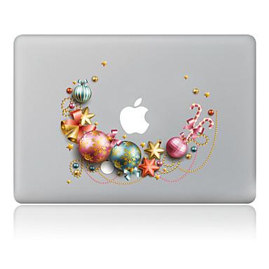 1개 스크래치 방지 크리스마스 투명 플라스틱 바디 스티커 패턴 용MacBook Pro 15'' with Retina MacBook Pro 15'' MacBook Pro 13'' with Retina MacBook Pro 13'' MacBook