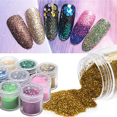 1 pcs Glitter & Poudre kiiltää / Muoti Päivittäin