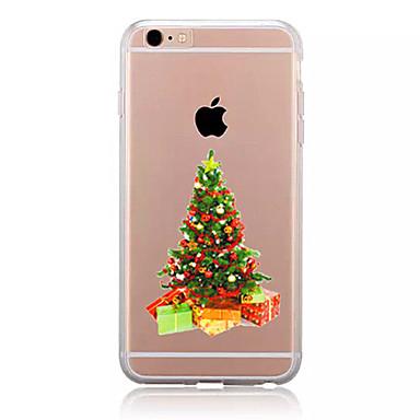 Kılıf Na Apple Etui iPhone 5 iPhone 6 iPhone 7 Wzór Czarne etui Święta Bożego Narodzenia Miękkie TPU na iPhone 7 Plus iPhone 7 iPhone 6s
