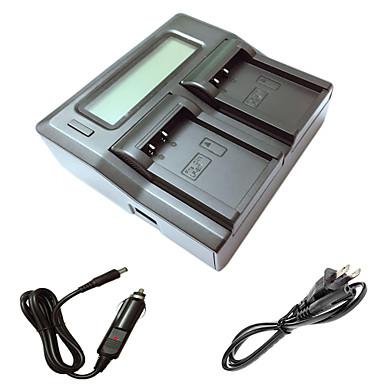 ismartdigi lpe17 LCD podwójny ładowarka z kablem ładowania samochodów dla Canon EOS 750D m3 batterys 760D aparat