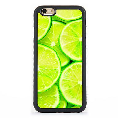제품 아이폰7케이스 아이폰6케이스 아이폰5케이스 케이스 커버 패턴 뒷면 커버 케이스 과일 하드 알루미늄 용 Apple 아이폰 7 플러스 아이폰 (7) iPhone 6s Plus iPhone 6 Plus iPhone 6s 아이폰 6 iPhone