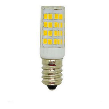 E14 LED Mısır Işıklar T 51 led SMD 2835 Dekorotif Sıcak Beyaz Serin Beyaz 450lm 3000-6000K AC 220-240V