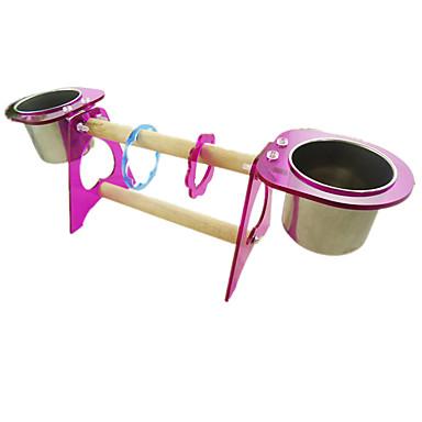 Πουλί Κούρνιες & Σκάλες Πλαστικό Ξύλο Μέταλλο