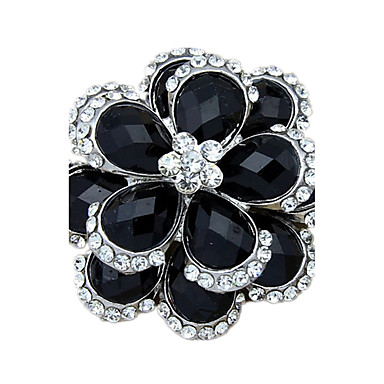 Γυναικεία Καρφίτσες Διπλή στρώση Προσομειωμένο διαμάντι Κοσμήματα Για Γάμου Πάρτι Καθημερινά Causal