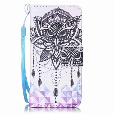 독수리 campanula 그림을 그리기 pu phone case for apple itouch 5 6 아이팟 케이스 / 커버