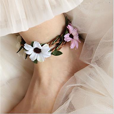 Damskie Łańcuszek na kostkę/Bransoletki Biżuteria Bohemia Style Ślubny Biżuteria Na Ślub Codzienny Casual