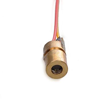 υψηλής ποιότητας λέιζερ διόδων λέιζερ 3 ν ορείχαλκο μεταλλικό περίβλημα λέιζερ 650 nm
