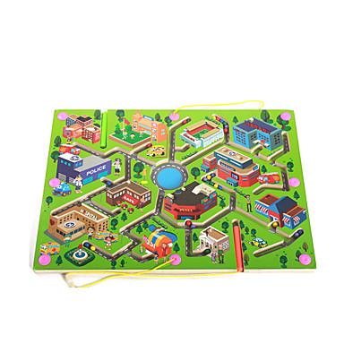 Zabawka edukacyjna Labirynty i puzzle Labirynt Zabawki Drewniany Sztuk Prezent