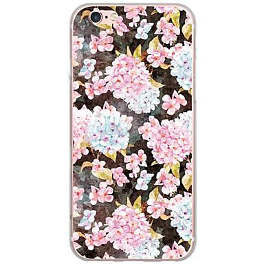 Varten Kuvio Etui Takakuori Etui Kukka Kova PC varten AppleiPhone 7 Plus / iPhone 7 / iPhone 6s Plus/6 Plus / iPhone 6s/6 / iPhone