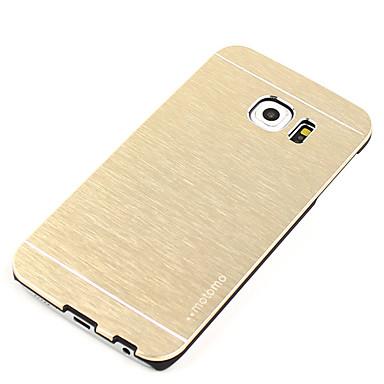 Case Kompatibilitás Samsung Galaxy S7 edge S7 Ütésálló Ultra-vékeny Hátlap Tömör szín Kemény Alumínium mert S7 edge S7 S6 edge S6 S5