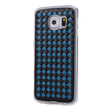 Kılıf Na Samsung Galaxy S7 edge S7 Odporne na wstrząsy Etui na tył Geometryczny wzór Miękkie TPU na S7 edge S7 S6 edge S6