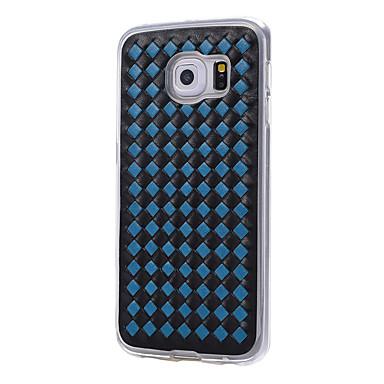 tok Για Samsung Galaxy S7 edge S7 Ανθεκτική σε πτώσεις Πίσω Κάλυμμα Γεωμετρικά σχήματα Μαλακή TPU για S7 edge S7 S6 edge S6