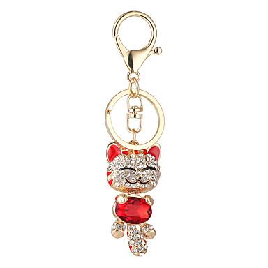 Łańcuszek do kluczy Purple / Czerwony / Różowy Stop Zwierzęta, Słodkie Style, euroamerykańskiej Na