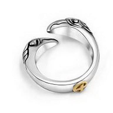 Ανδρικά Γυναικεία Για Ζευγάρια Δαχτυλίδια Ζευγαριού Κοσμήματα Προσαρμόσιμη Ανοικτό Τιτάνιο Ατσάλι Κοσμήματα Γάμου Πάρτι Καθημερινά