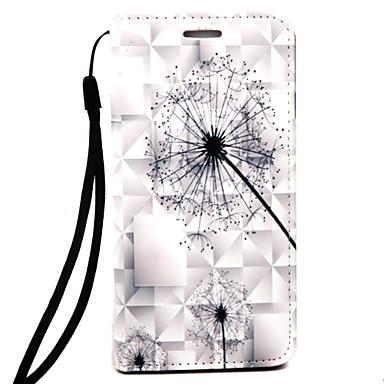 غطاء من أجل Apple iPhone 7 iPhone 6 قضية فون 5 محفظة مطرز كامل الجسم الهندباء قاسي جلد اصطناعي إلى فون 7 زائد فون 7 iPhone 6s Plus iPhone
