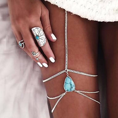 للمرأة خلخال / سوار سبيكة شرابة أوروبي خلخال قطرة مجوهرات من أجل زفاف يوميا فضفاض شاطئ